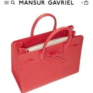 MANSUR GAVRIEL - FLAMMA sun bag